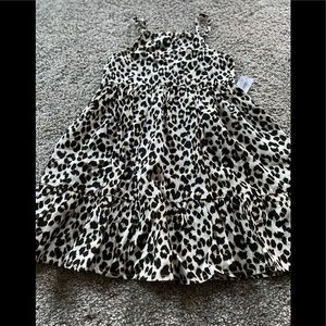 NWT OLD NAVY ADORABLE LEOPARD SUN DRESS 3T